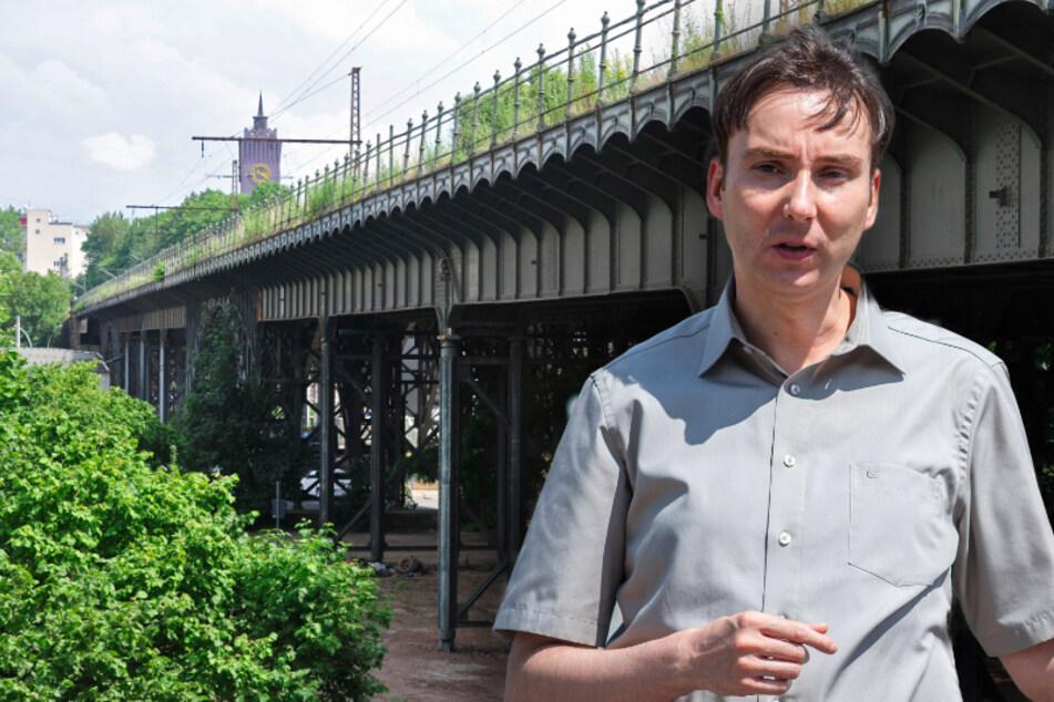 Chemnitz: Historiker Schmalfuß will auch einen Preis für Viadukt-Rettung