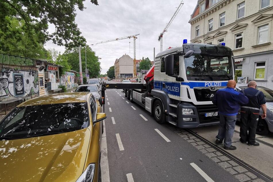 Razzia im Leipziger Linkenviertel Connewitz