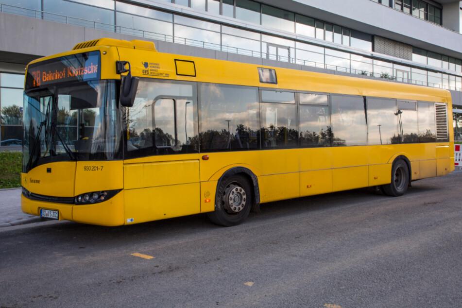 """Die """"78"""" zum Bosch-Werk wird komplett neu geplant. Aktuell fährt die Linie nur zum Bahnhof Klotzsche. Startschuss wäre Anfang 2022."""