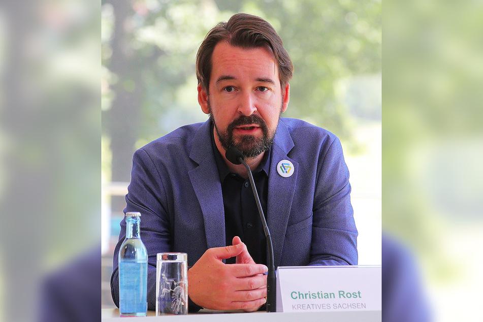Projektleiter Christian Rost.