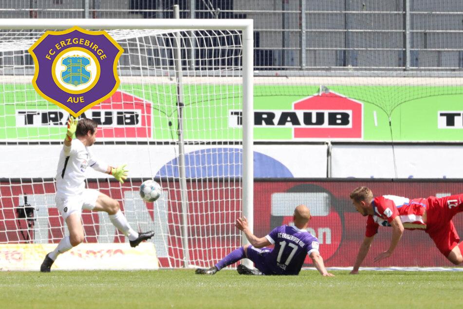 Kriegt der FC Erzgebirge Aue das Flattern?