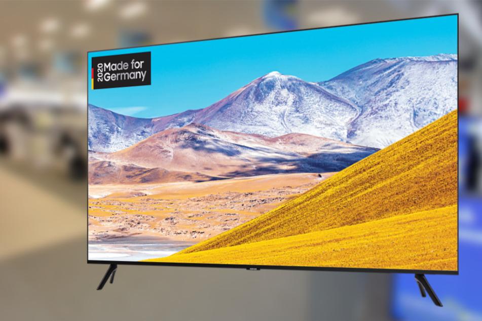 Zwei Tage gibt's diesen 55-Zoll-TV richtig günstig! Wir verraten wo!