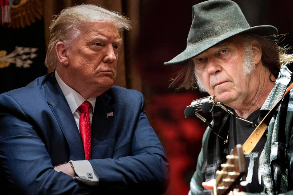 Musiker Neil Young erwägt Klage gegen Donald Trump