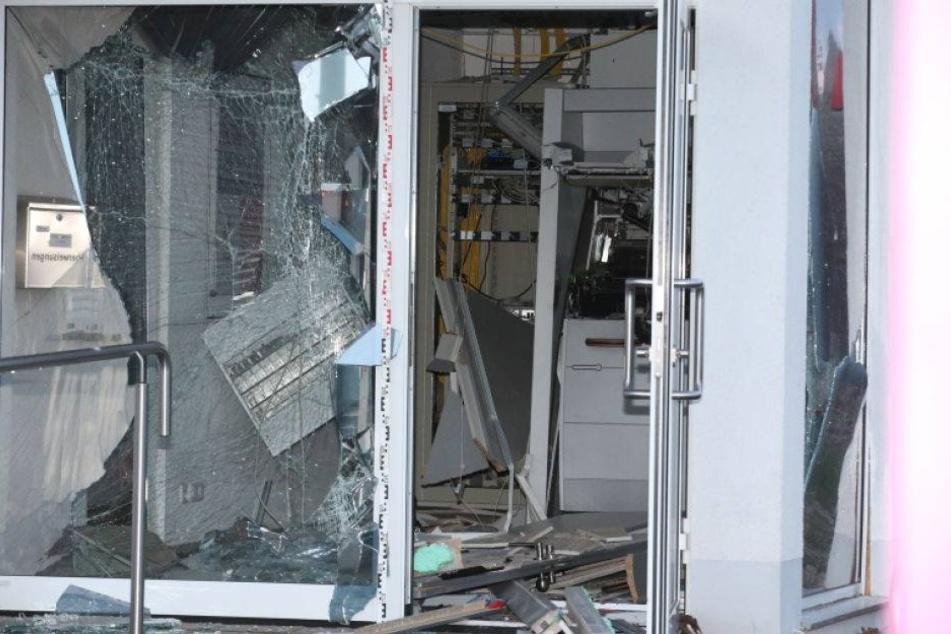 Automat gesprengt! Hier hat jemand Geld gebraucht