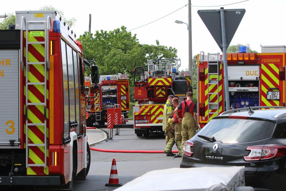 Die Feuerwehr bekam den Wohnungsbrand rasch unter Kontrolle.
