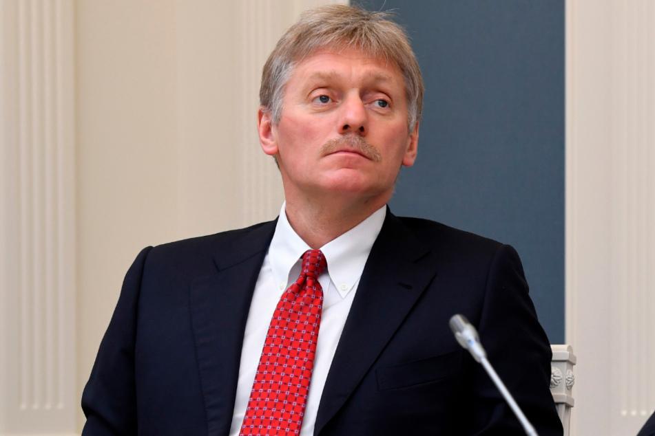 Dmitri Peskow, Sprecher des russischen Präsidenten.