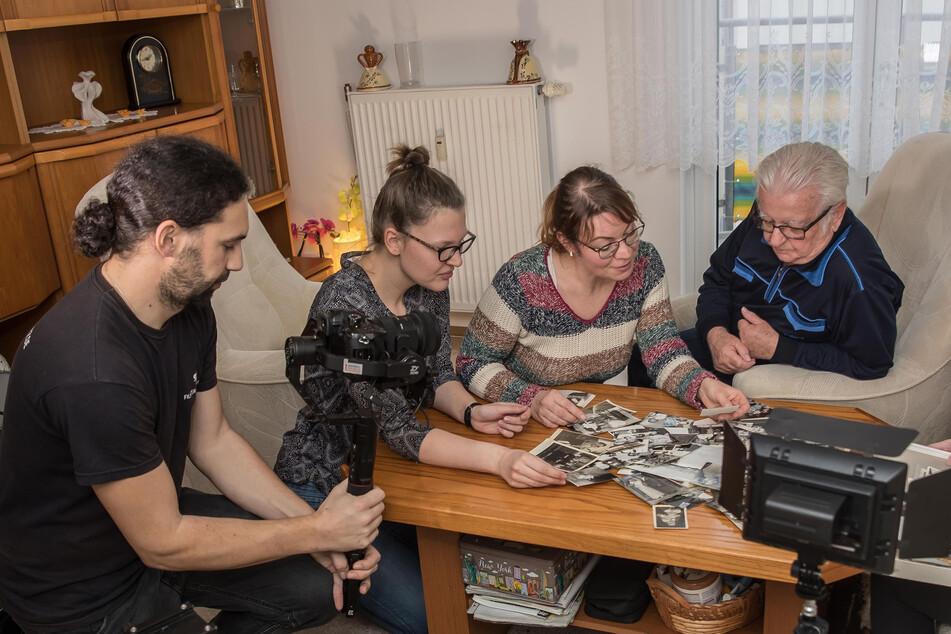 Chemnitzer Kriegskinder bewahren ihre Erinnerung für die Generation von heute