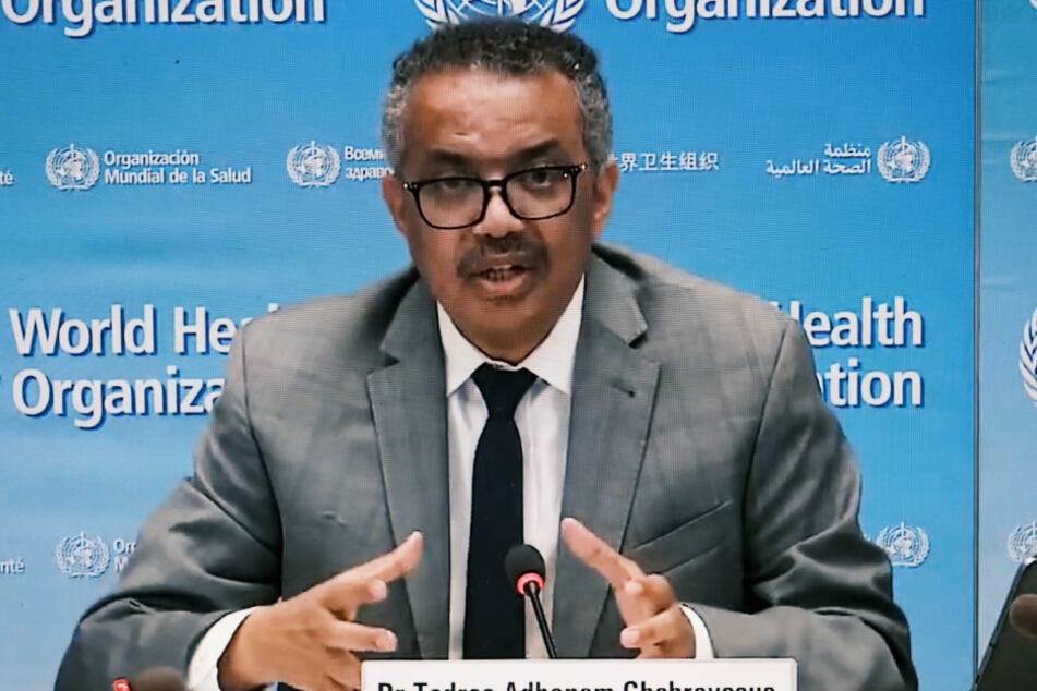 Der Chef der Weltgesundheitsorganisation (WHO), Tedros Adhanom Ghebreyesus.