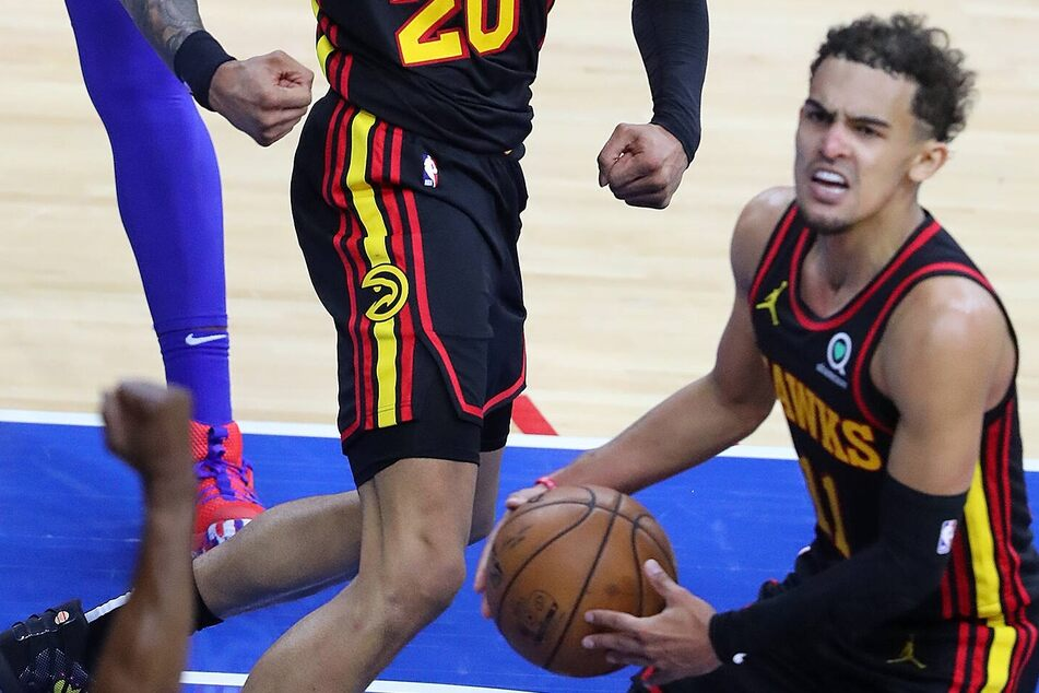 NBA Playoffs: The Hawks fly into Philly and steal Game 1 in a nail-biter!