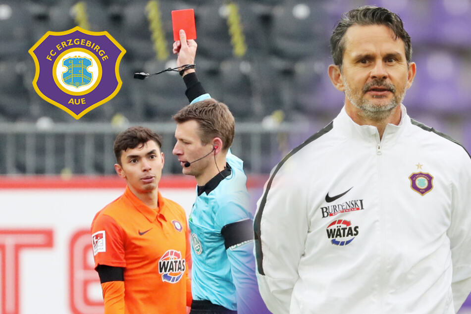 Strauß fehlt gegen Regensburg! Ändert Aue-Coach Schuster deswegen sogar sein Spielsystem?