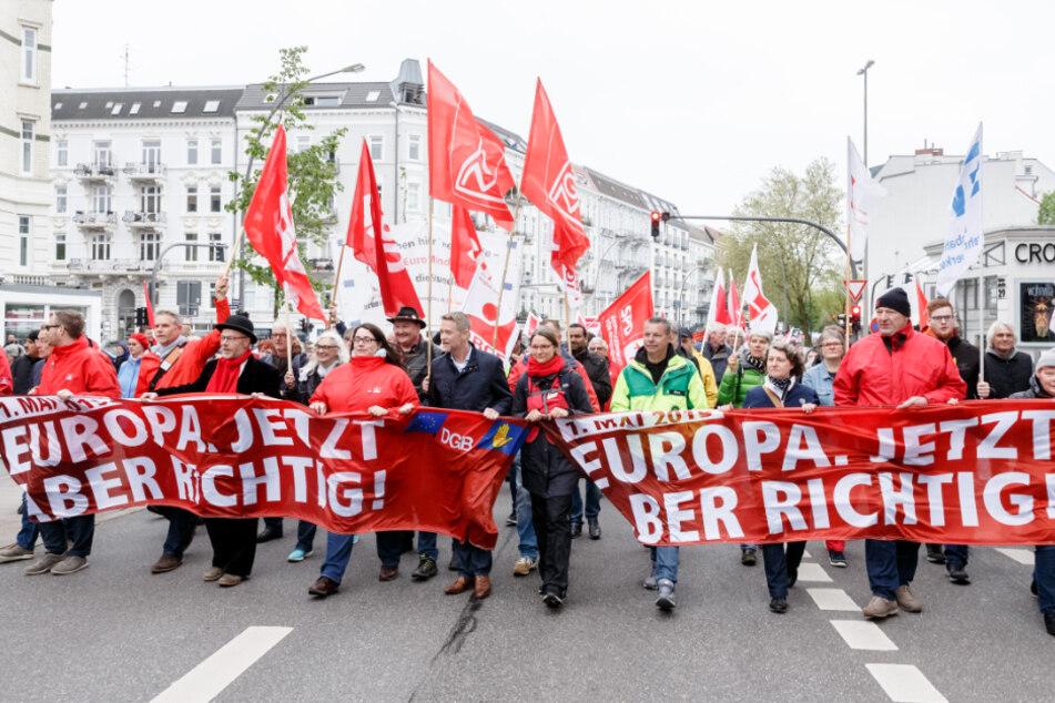 Linksextreme und Neonazis dürfen am 1. Mai in Hamburg nicht demonstrieren