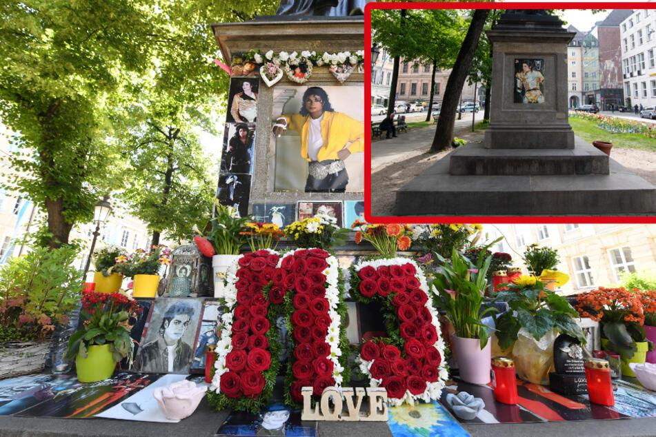 München: Michael Jackson Gedenkstätte geplündert? Alle Andenken plötzlich weg!