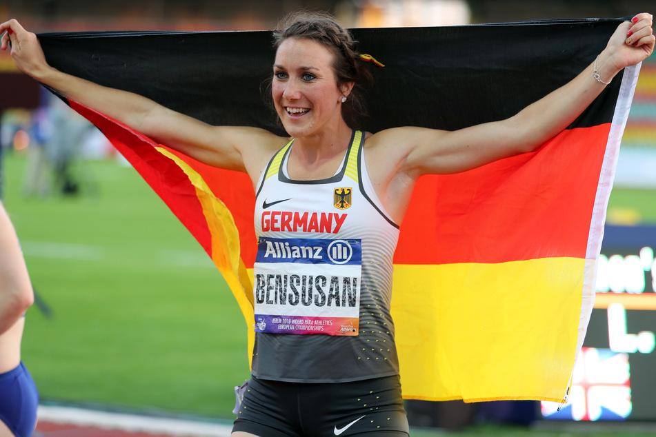 Bei den Paralympics in Tokio geht Irmgard Bensusan (30) in den Sprint-Disziplinen als Gold-Hoffnung an den Start.