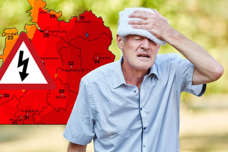 In weiten Teilen Deutschlands wird es wieder verdammt heiß.