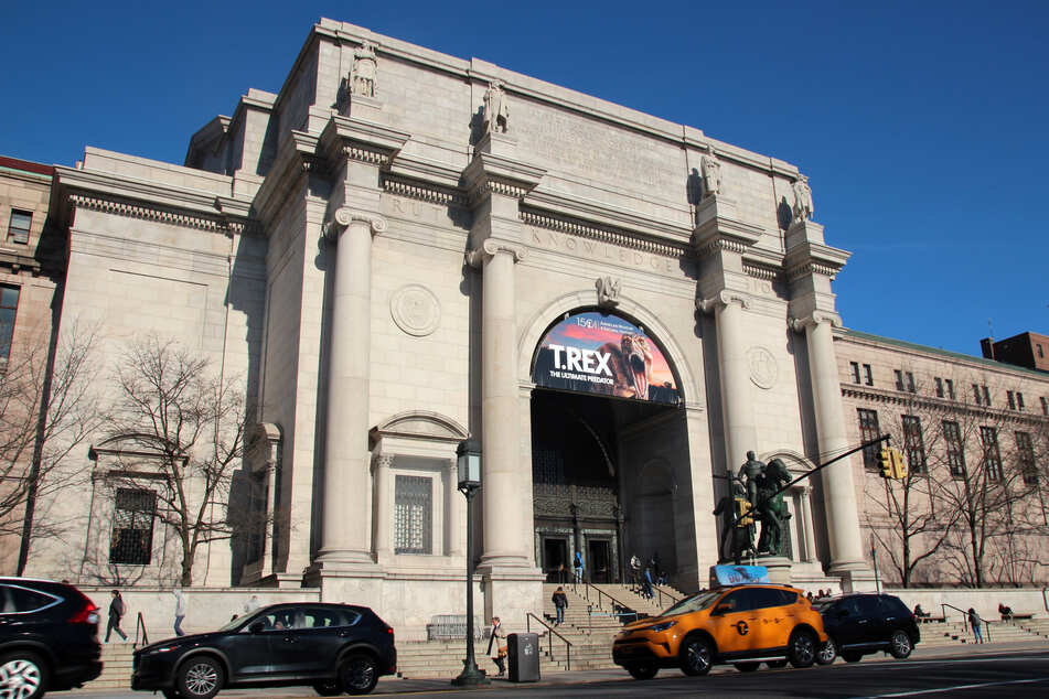 Das American Museum of Natural History (AMNH) in New York.