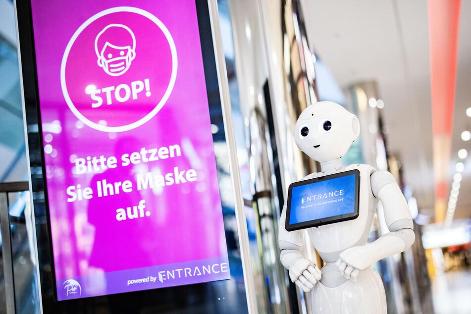 NRW-Städte setzen bei der Maskenkontrolle auf diesen Roboter