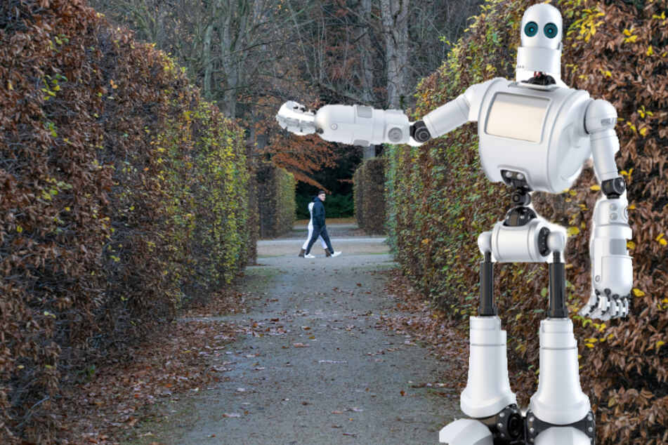 Hightech-Pläne für Dresdner Parks: Roboter sollen bald Hecken schneiden