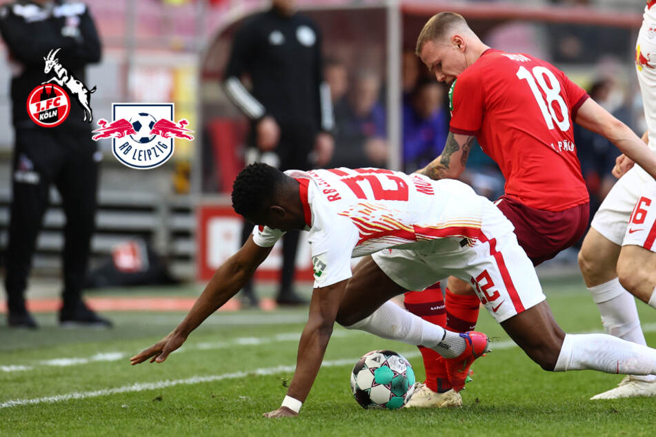 """Köln-Profi hat nach Zoff mit RB-Leipzig-Spieler Tränen in den Augen: """"Unschöne Worte gefallen!"""""""