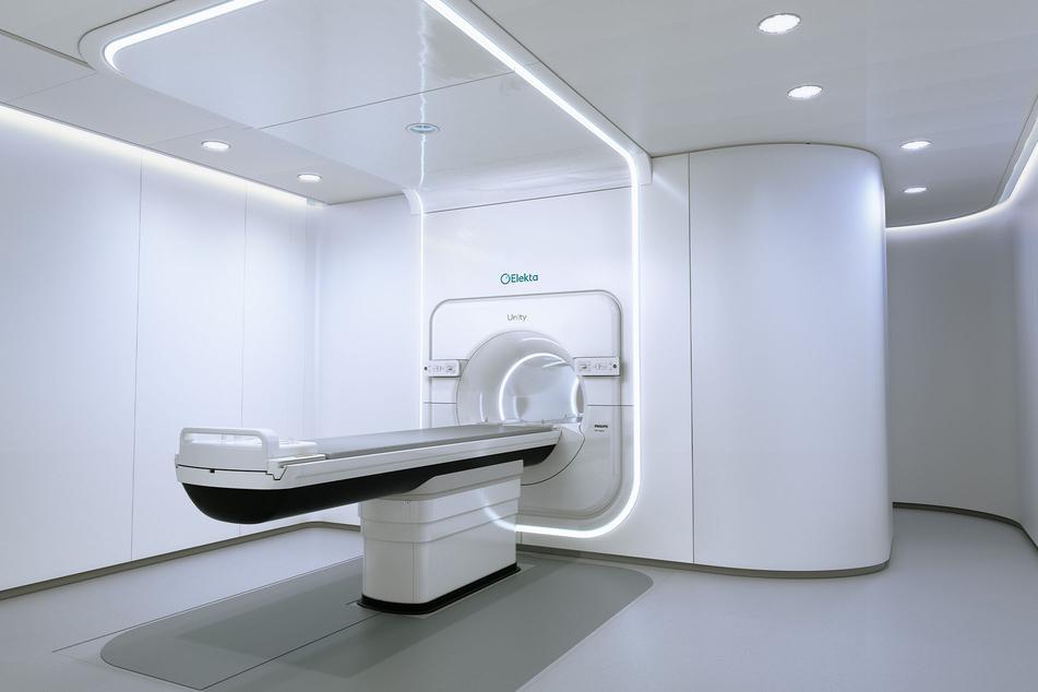 So sieht das neue Bestrahlungsgerät aus, wenn es fertig ist.