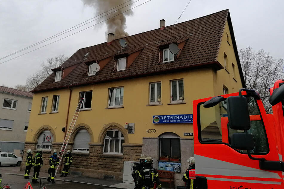 Stuttgart-Feuerbach: Acht Verletzte nach Restaurant-Brand!