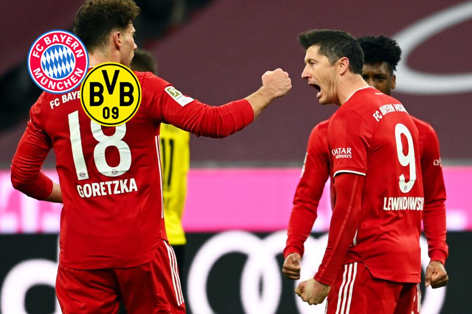 Robert Lewandowski kontert Erling Haaland! FC Bayern ringt BVB in packendem Spiel nieder!