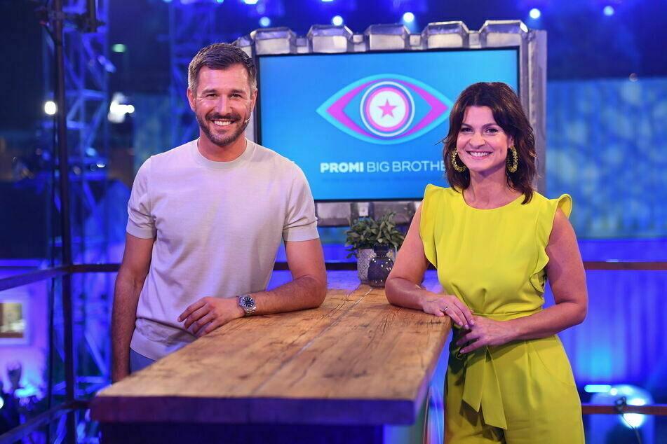 """Das süße Moderatoren-Pärchen Marlene Lufen (50) und Jochen Schropp (42). werden """"Promi Big Brother"""" moderieren."""