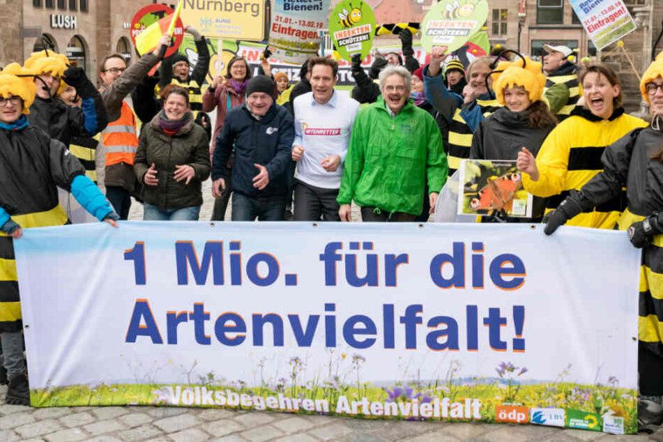 In München und ganz Bayern ist das Volksbegehren ein zentrales Thema. (Archivbild)