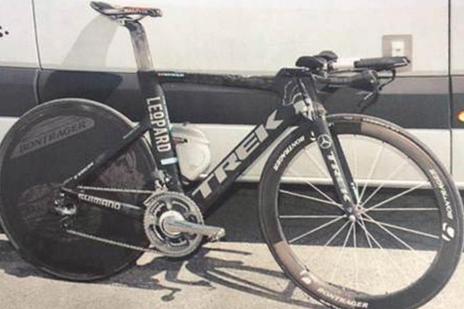 Dieses Bike wurde am Montagnachmittag aus einem Fahrradladen an der Magdeburger Goldschmiedebrücke gestohlen.