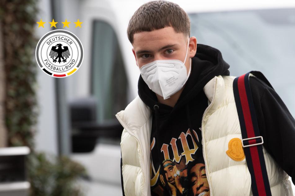 Weil Youngster Wirtz (17) zum ersten Mal dabei ist: Das gab es beim DFB noch nie