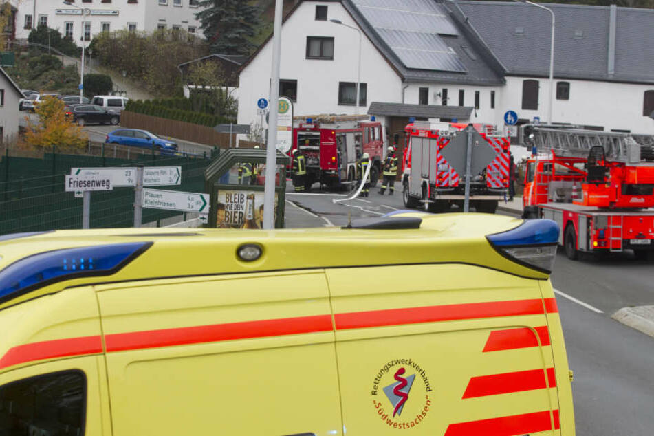Wieder musste die Feuerwehr nach Alt-Chrieschwitz ausrücken.