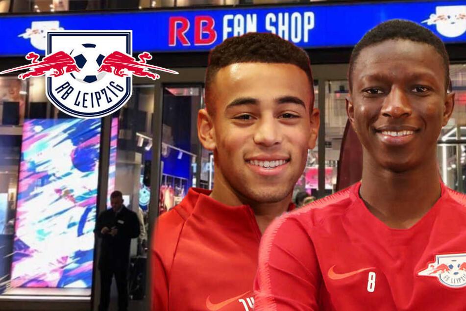 Den Stars hautnah: RB Leipzigs Neuzugänge kommen zur Autogrammstunde