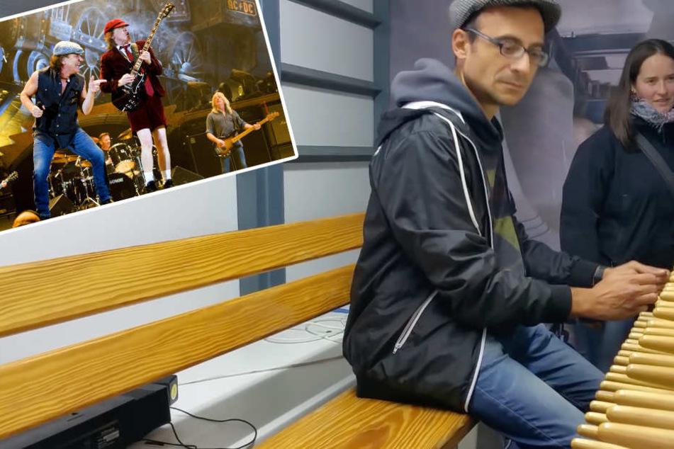 Viraler Hit aus Halle: Mann spielt AC/DC auf Europas größtem Glockenspiel