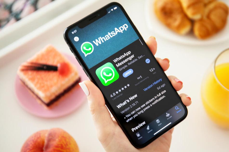 Ein bald erscheinendes WhatsApp-Update ermöglicht selbst löschende Nachrichten.(Symbolbild)