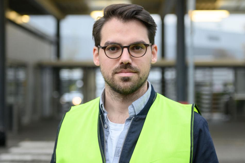 Daniel Flohr, Stellvertretender Vorsitzender der Gewerkschaft Ufo.