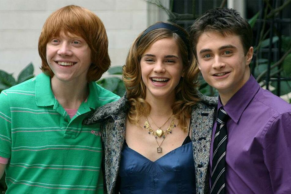 Zauberlehrling Harry Potter und seine Freunde - sie sind Vorbild für Magier Thomas.