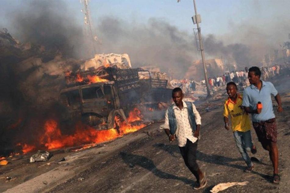 In Niamey, der Hauptstadt des Niger, ist ein Tanklaster explodiert.