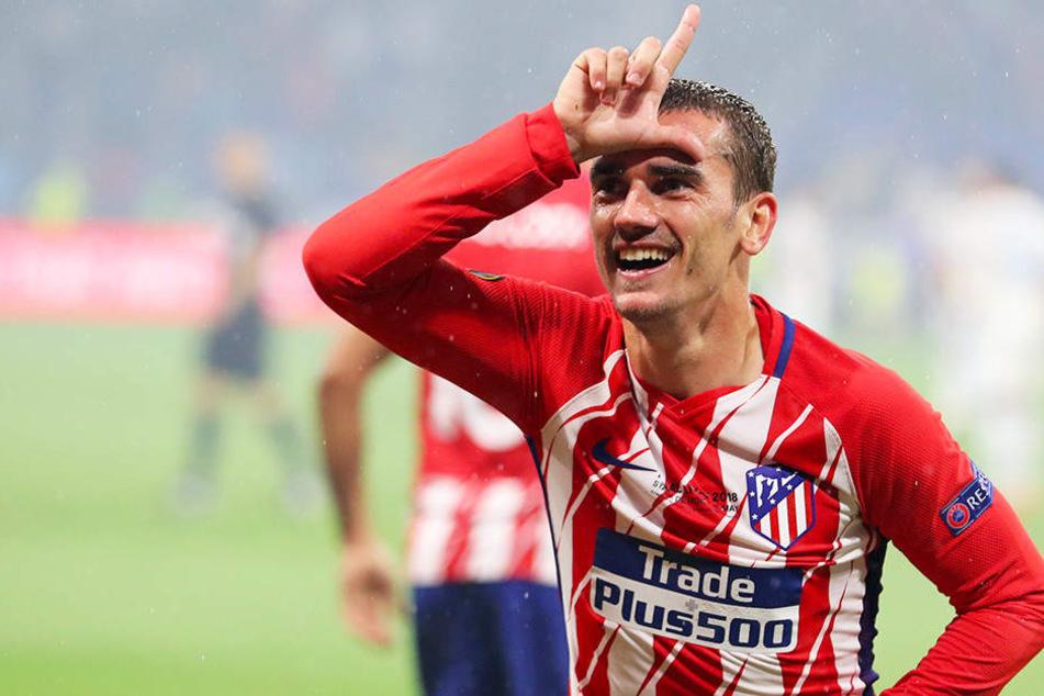 Bleibt Atlético Madrid erhalten: Superstar Antoine Griezmann.