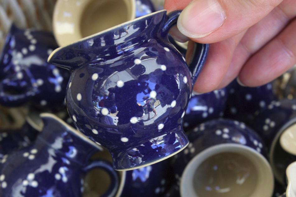 Töpfer und Keramikkünstler sind hier in ihrem Element.