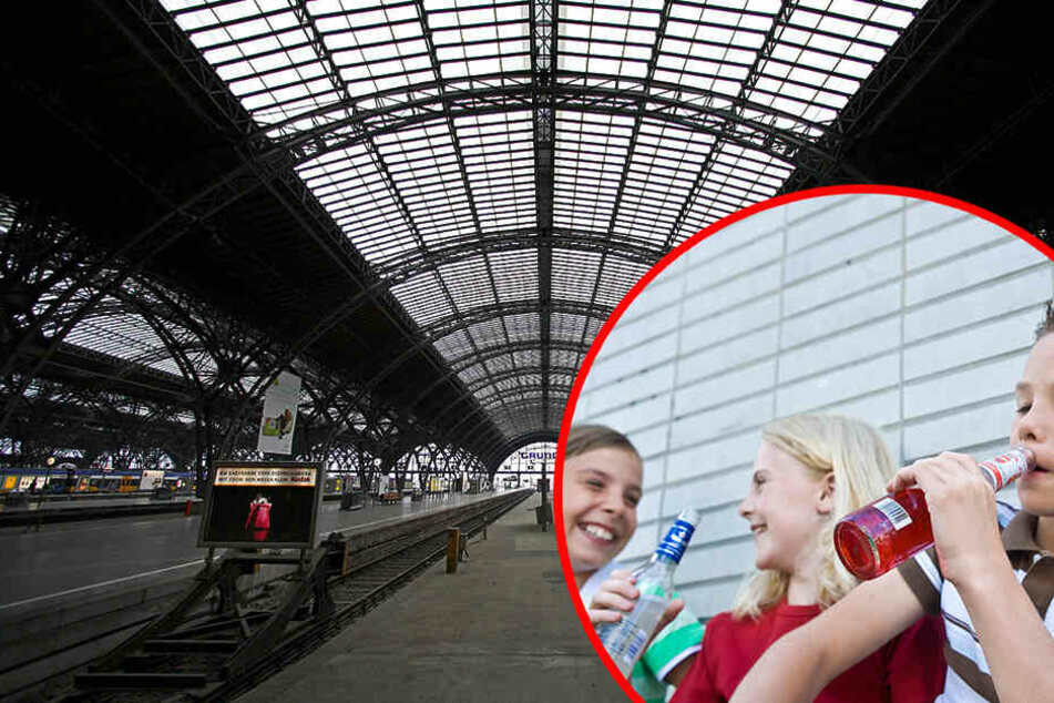 Was trieben die vier Kinder des Nachts im Leipziger Hauptbahnhof? (Symbolbild)
