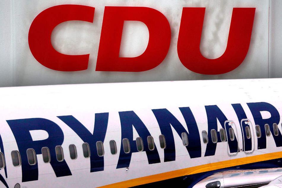 Ryanair und die Berliner CDU schlossen sich kurz, um juristische und ökonomische Aspekte in den Kontext des Gutachtens zu setzen. (Symbolbild)