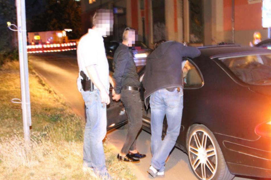Während der Festnahme eines Gesuchten ereignete sich der Unfall nur wenige Meter entfernt.