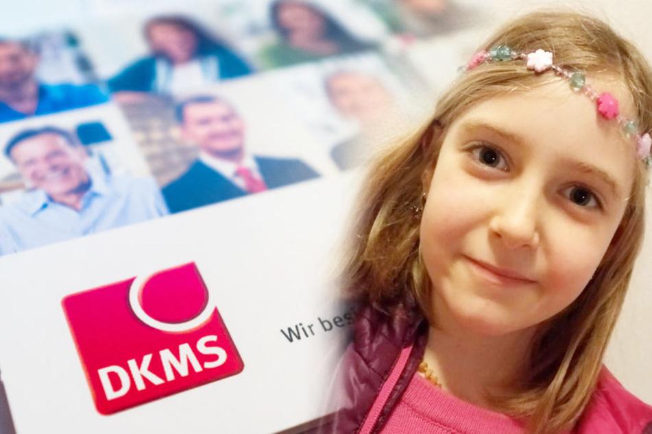 """Die 8-jährige Larissa hatte Glück. Doch viele weitere Betroffene warten immer noch auf ihren """"genetischen Zwilling""""."""