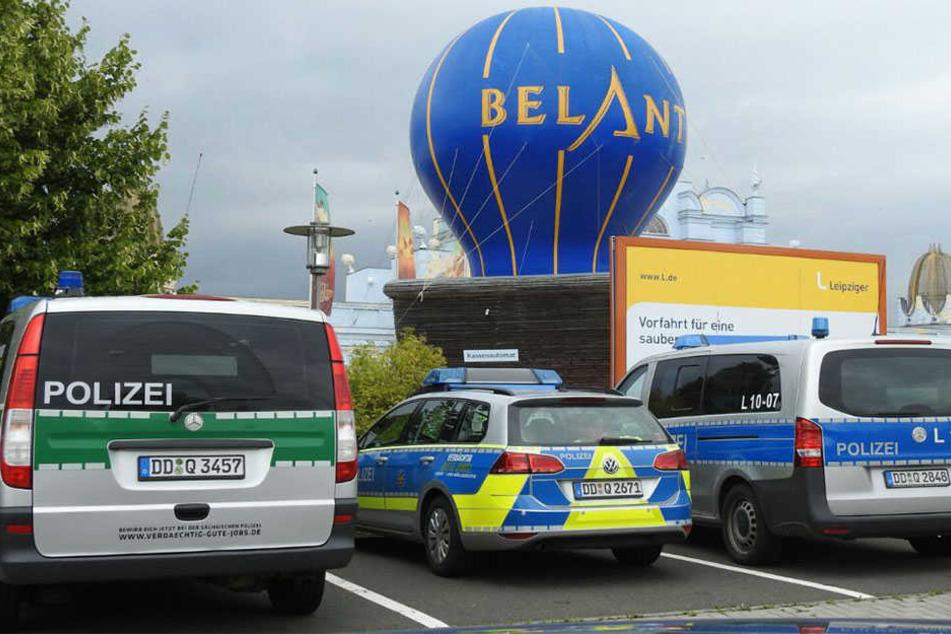 """Im beliebten Freizeitpark """"Belantis"""" bei Leipzig kam es am Donnerstag zu einer blutigen Auseinandersetzung."""