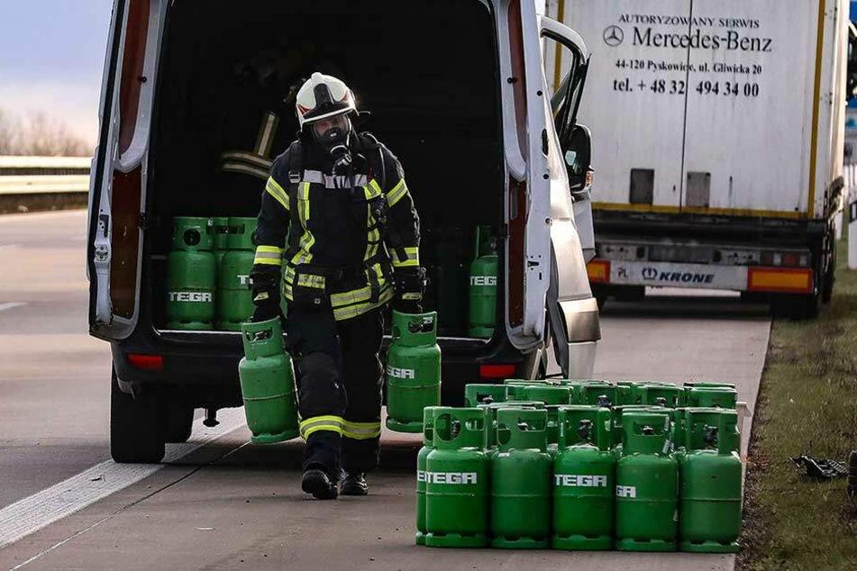 Wurden Gasflaschen von A4-Unfall zuvor gestohlen?
