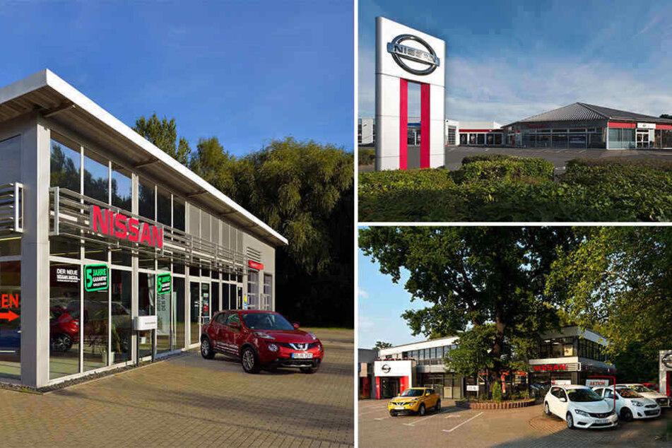 Das Autohaus hat drei Filialen in Dresden.