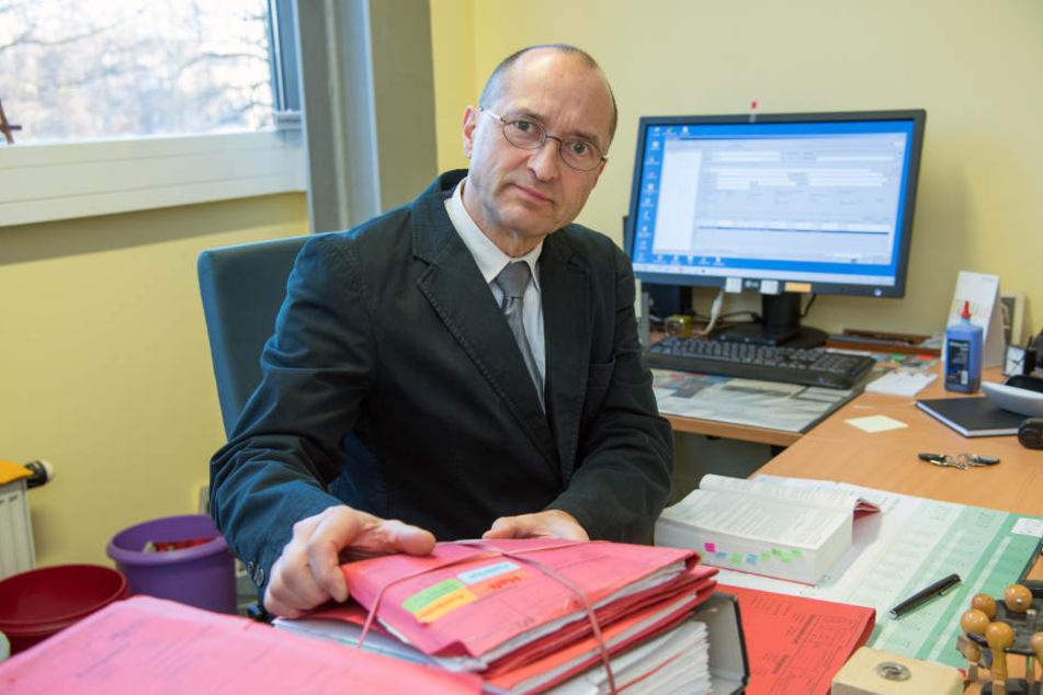 Richter Stephan Zantke (54) hat in einem Prozess gegen einen kriminellen Flüchtling Klartext gesprochen (Archivfoto).