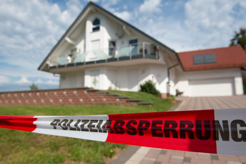 Das Haus des verstorbenen Regierungspräsidenten im hessischen Wolfhagen.