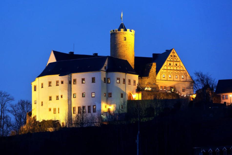 """Zum """"Geister-Spuk"""" sind alle Kinder auf die Burg Scharfenstein eingeladen."""