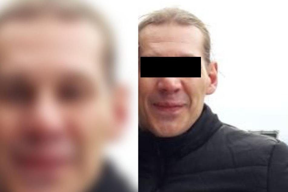 Das Fahndungsbild des 42-Jährigen gesuchten Mörders.