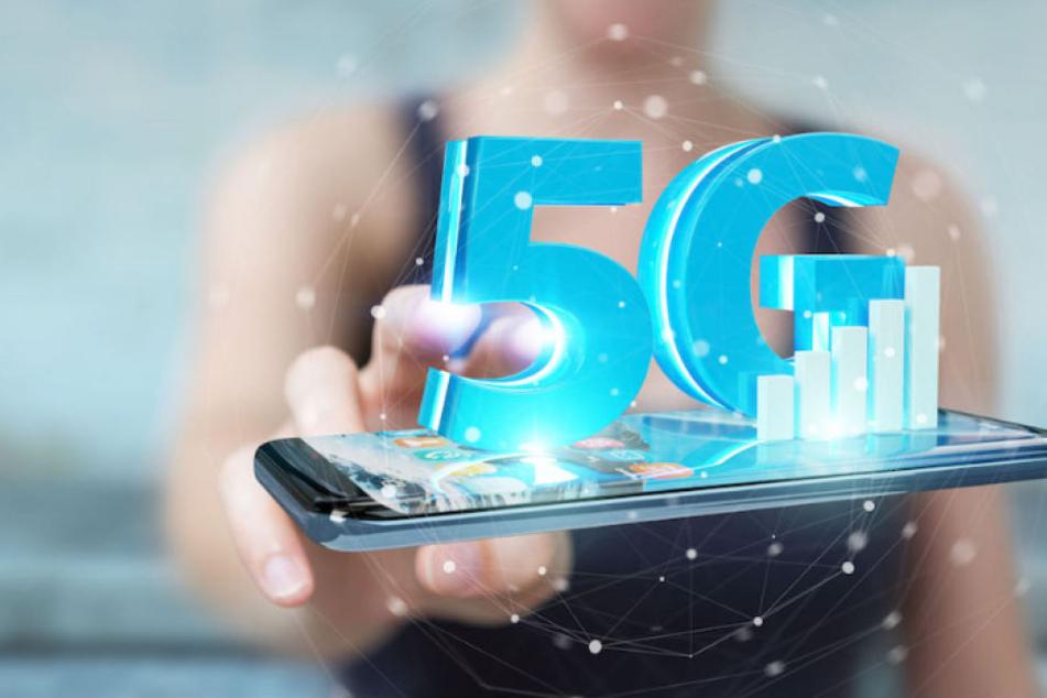 Ist deutlich schnell als derzeitige LTE-Netze – die 5G-Technologie. (Symbolbild)